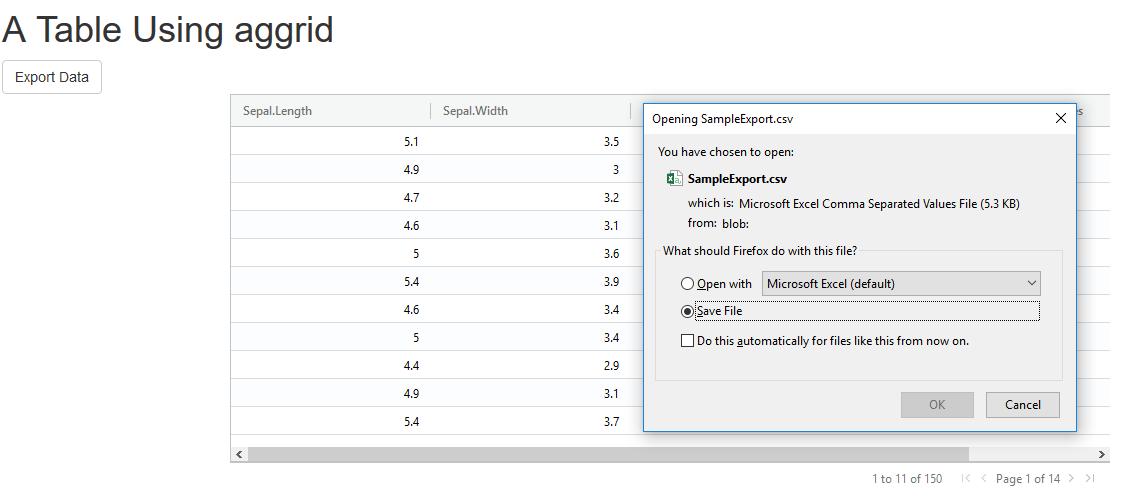RagGrid Documentation - Version 0 2 0